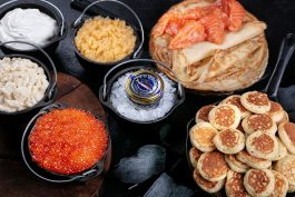 Масленица в «Бочке»: блины, оладьи и Caviar Bar