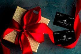 Подарочные карты Maison Dellos со скидкой 30%